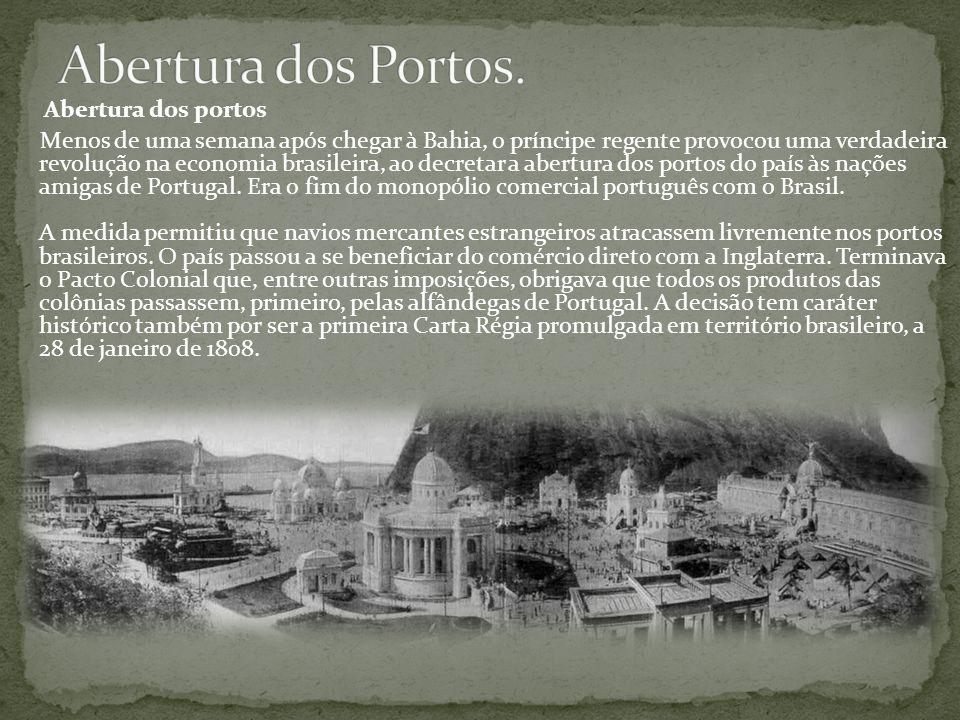 Abertura dos Portos.