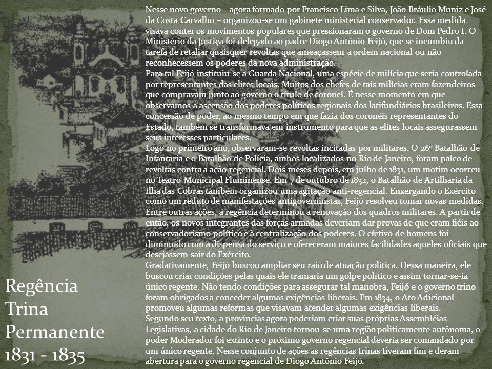 Regência Trina Permanente 1831 - 1835