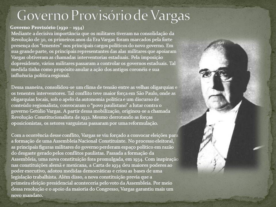Governo Provisório de Vargas