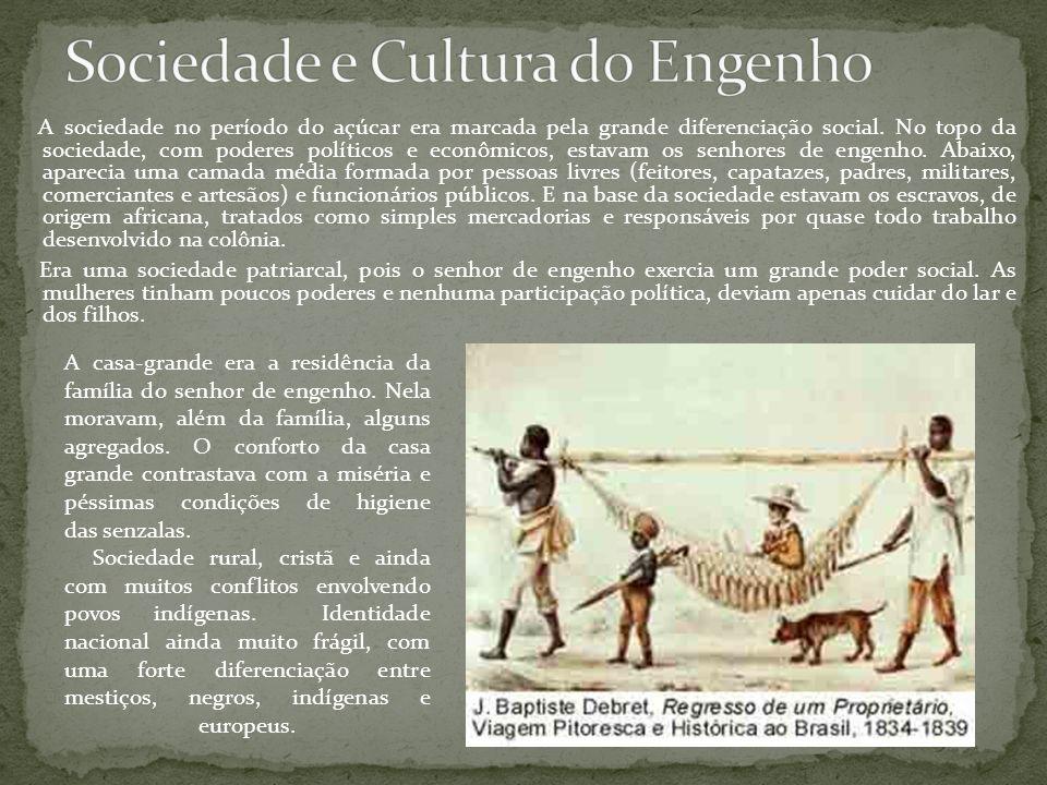 Sociedade e Cultura do Engenho