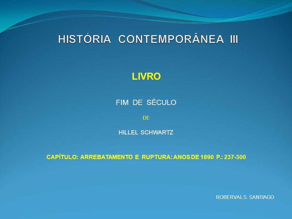 HISTÓRIA CONTEMPORÂNEA III