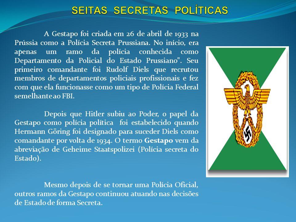 SEITAS SECRETAS POLÍTICAS