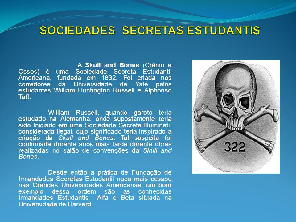 SOCIEDADES SECRETAS ESTUDANTIS