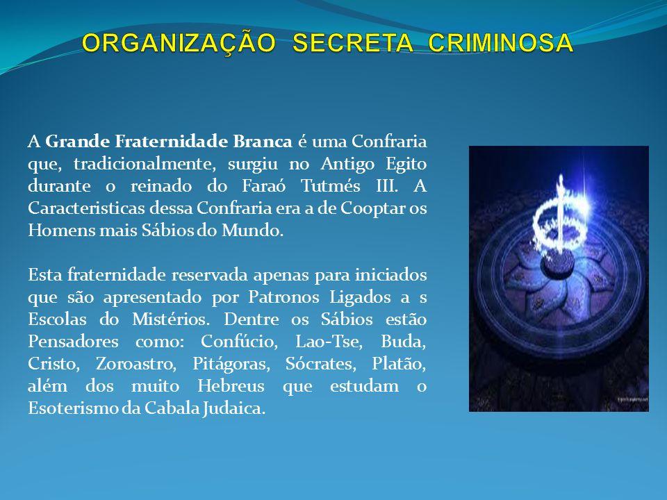 ORGANIZAÇÃO SECRETA CRIMINOSA