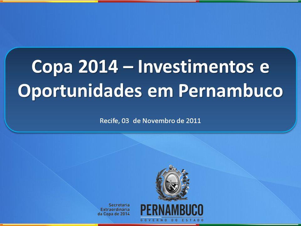 Copa 2014 – Investimentos e Oportunidades em Pernambuco