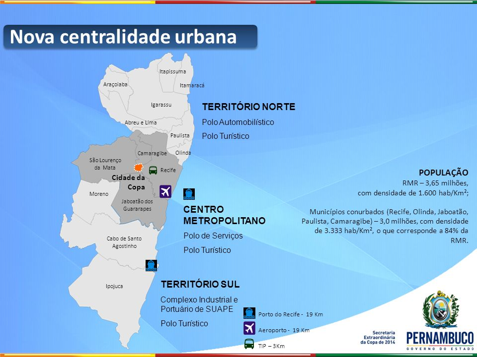 Nova centralidade urbana