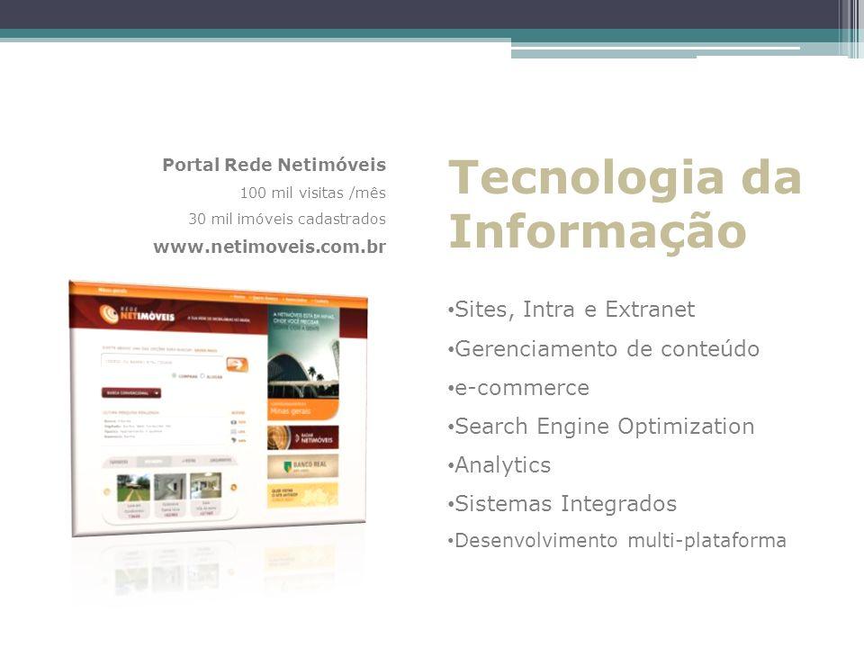 Tecnologia da Informação Sites, Intra e Extranet
