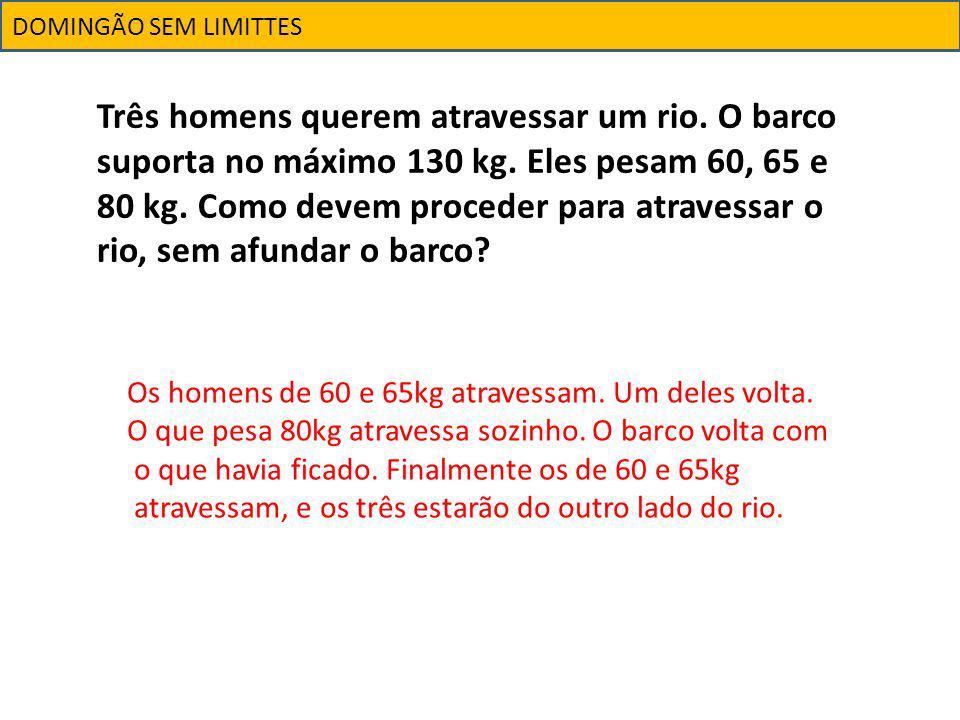 DOMINGÃO SEM LIMITTES