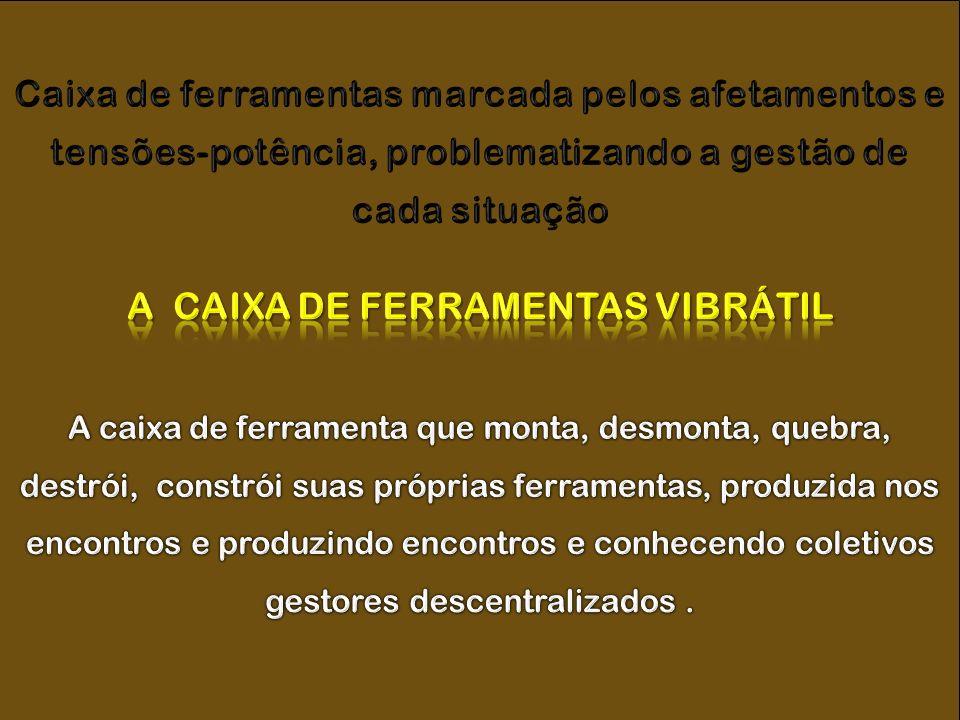 A CAIXA DE FERRAMENTAS VIBRÁTIL