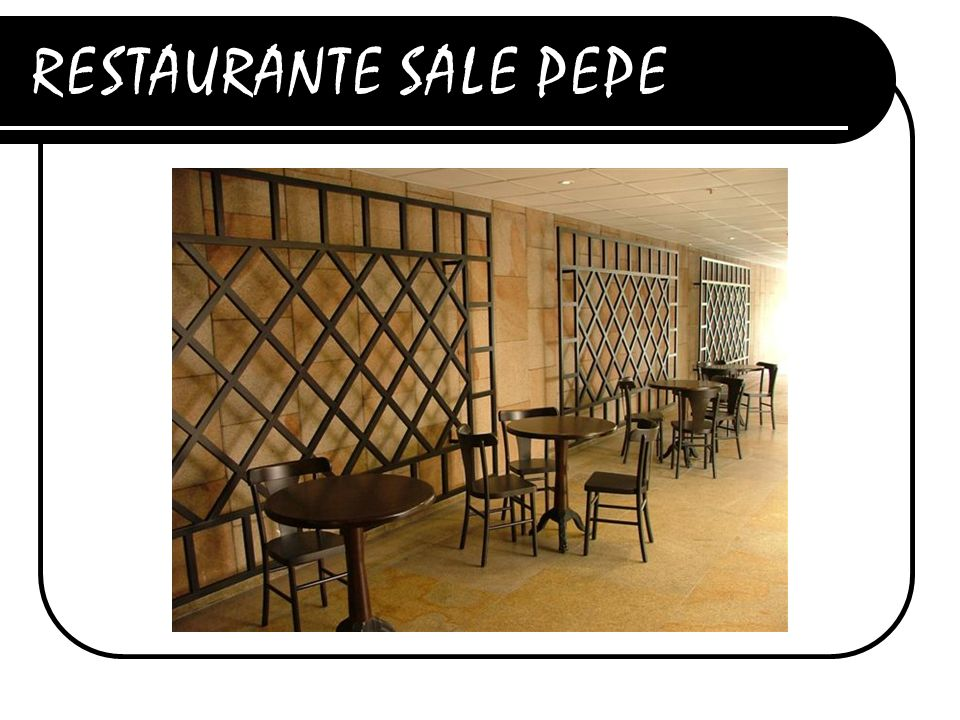 RESTAURANTE SALE PEPE