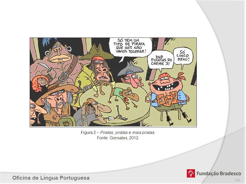 Figura 2 – Piratas, piratas e mais piratas.