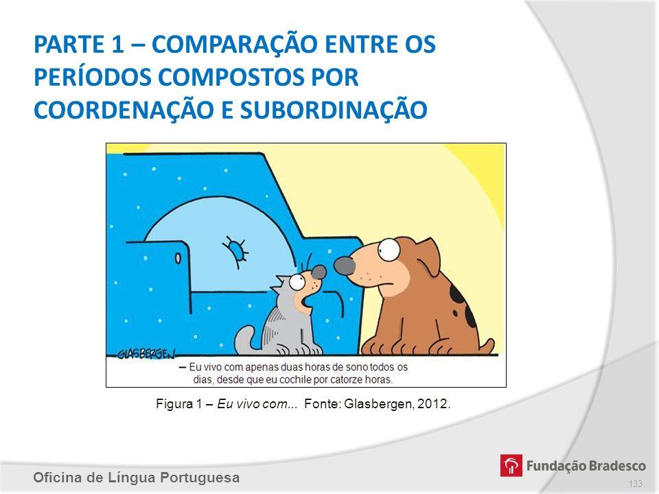 Figura 1 – Eu vivo com... Fonte: Glasbergen, 2012.