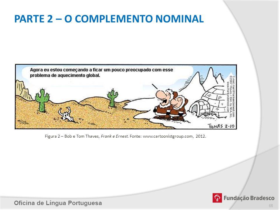 PARTE 2 – O COMPLEMENTO NOMINAL