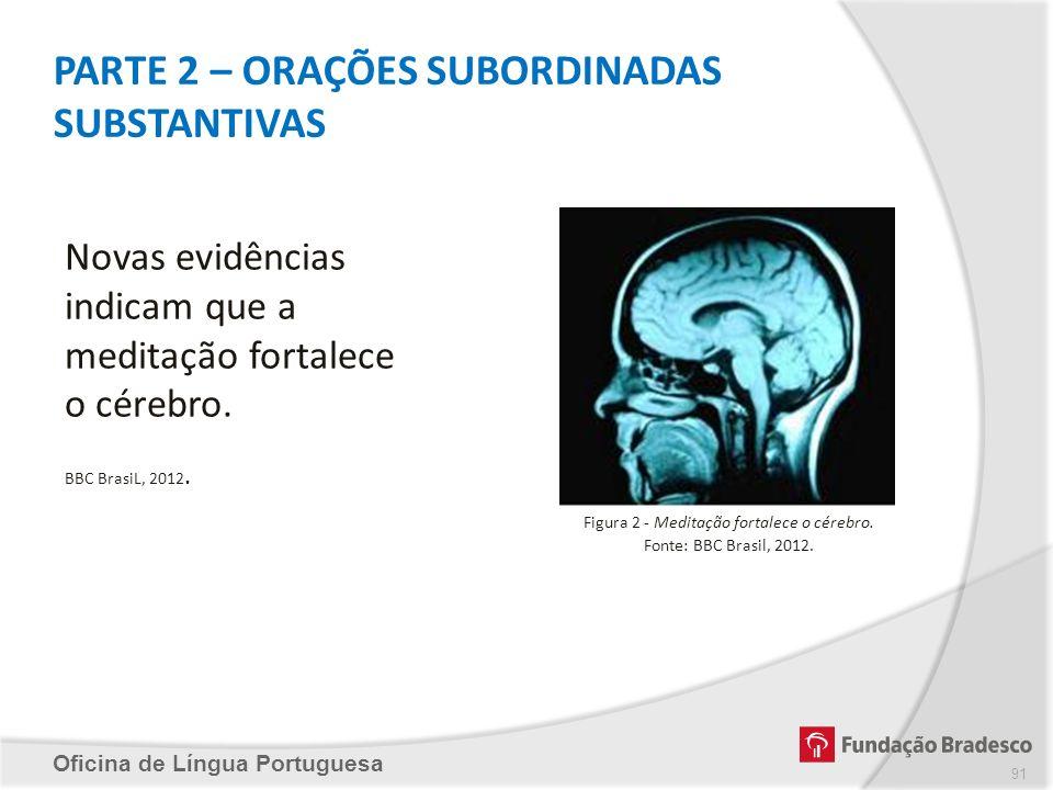 PARTE 2 – ORAÇÕES SUBORDINADAS SUBSTANTIVAS