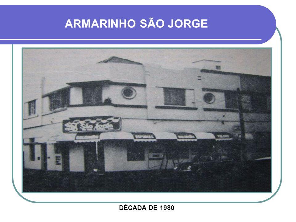 ARMARINHO SÃO JORGE DÉCADA DE 1980
