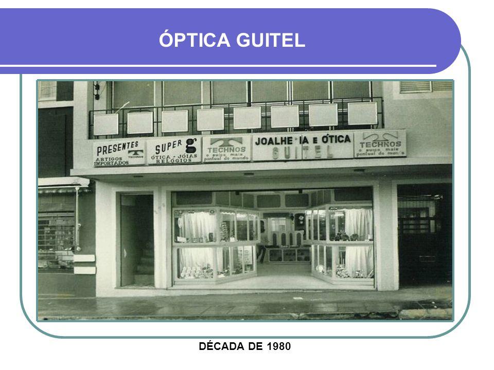 ÓPTICA GUITEL DÉCADA DE 1980