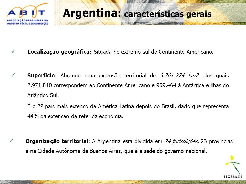 Argentina: características gerais