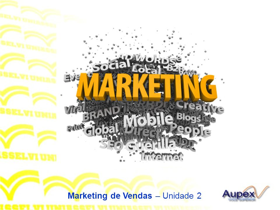 Marketing de Vendas – Unidade 2