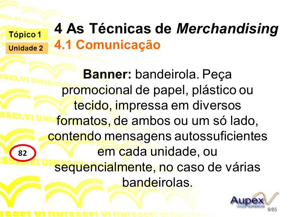 4 As Técnicas de Merchandising 4.1 Comunicação