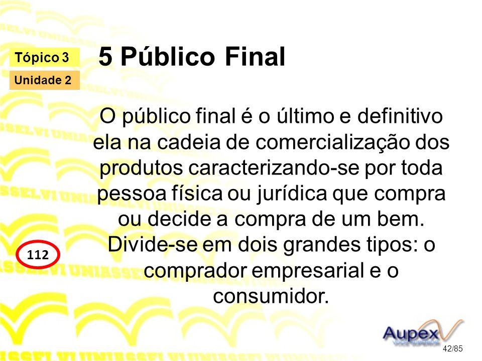 5 Público Final Tópico 3. Unidade 2.