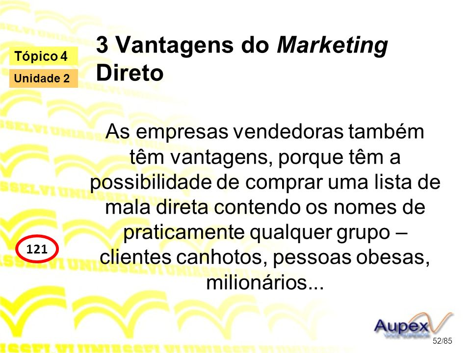 3 Vantagens do Marketing Direto