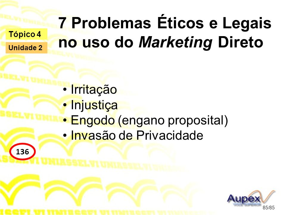 7 Problemas Éticos e Legais no uso do Marketing Direto