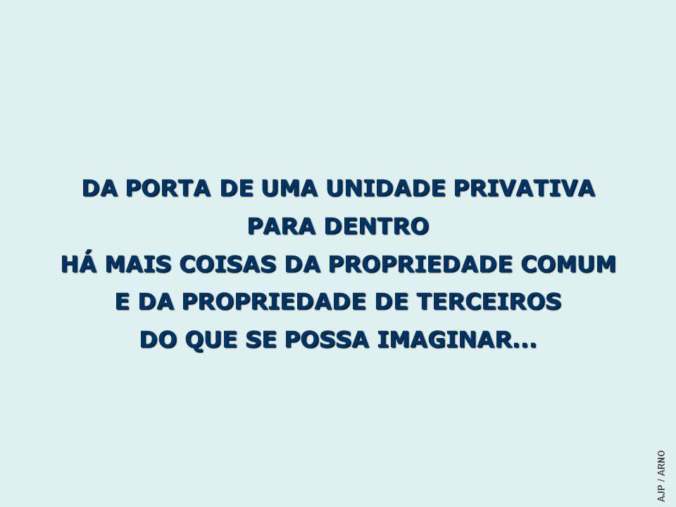 DA PORTA DE UMA UNIDADE PRIVATIVA PARA DENTRO