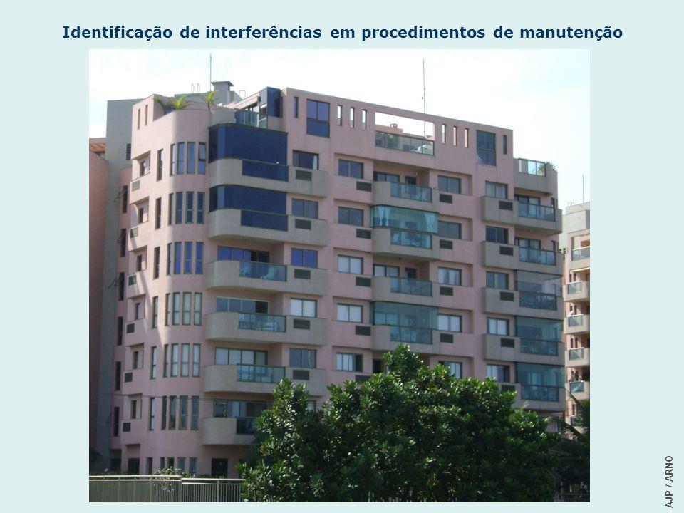 Identificação de interferências em procedimentos de manutenção