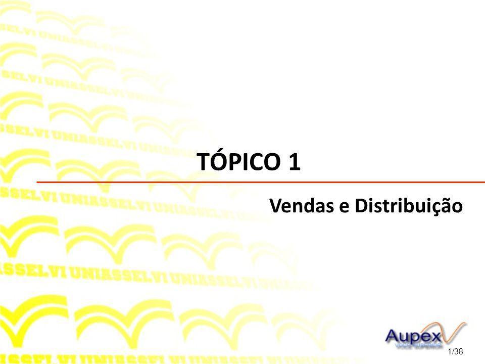 TÓPICO 1 Vendas e Distribuição 1/38