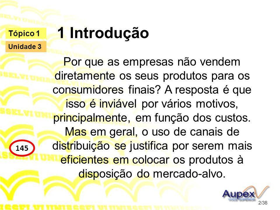 1 Introdução Tópico 1. Unidade 3.