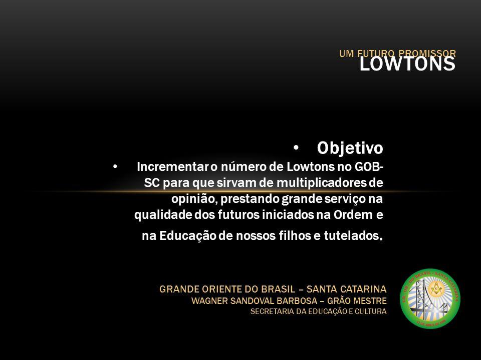 UM FUTURO PROMISSOR LOWTONS. Objetivo.