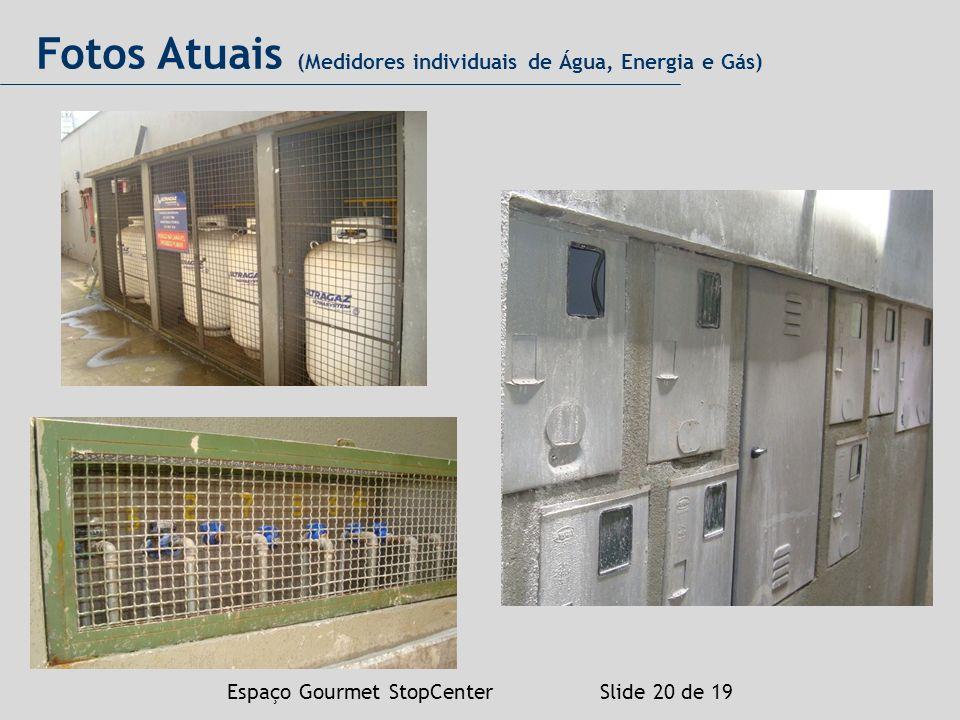 Fotos Atuais (Medidores individuais de Água, Energia e Gás)