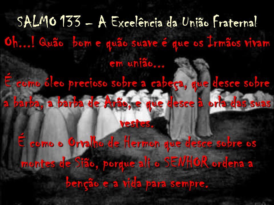 SALMO 133 – A Excelência da União Fraternal