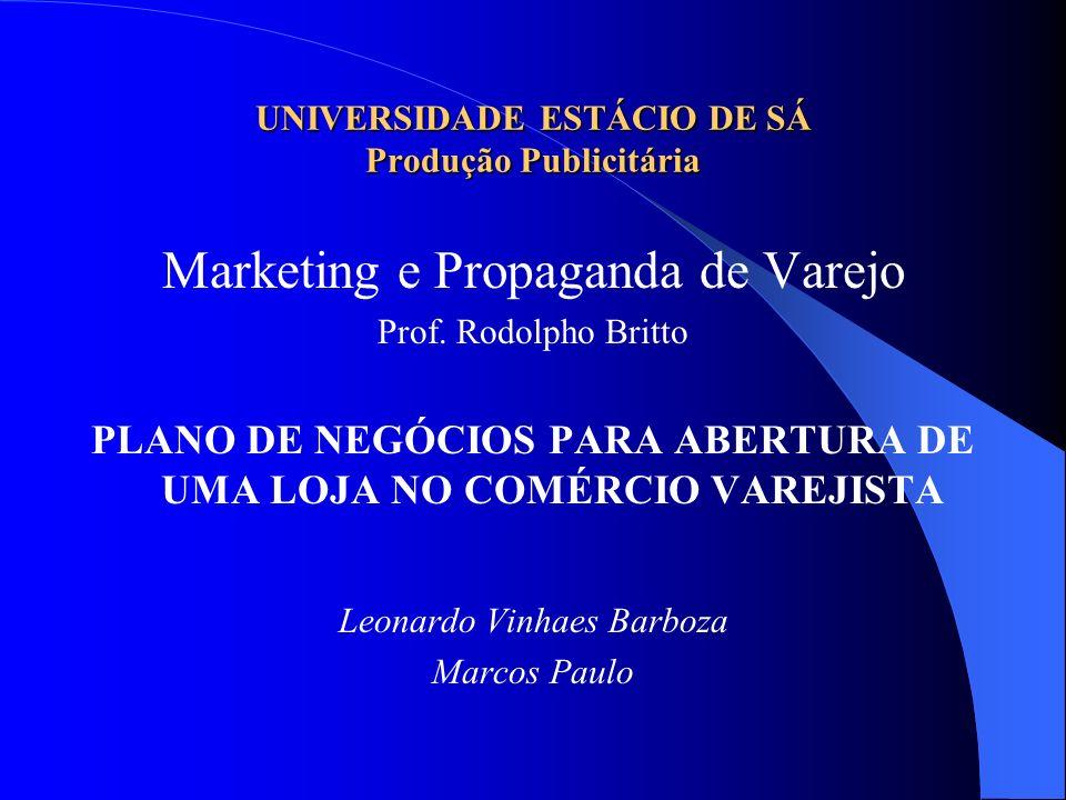 UNIVERSIDADE ESTÁCIO DE SÁ Produção Publicitária