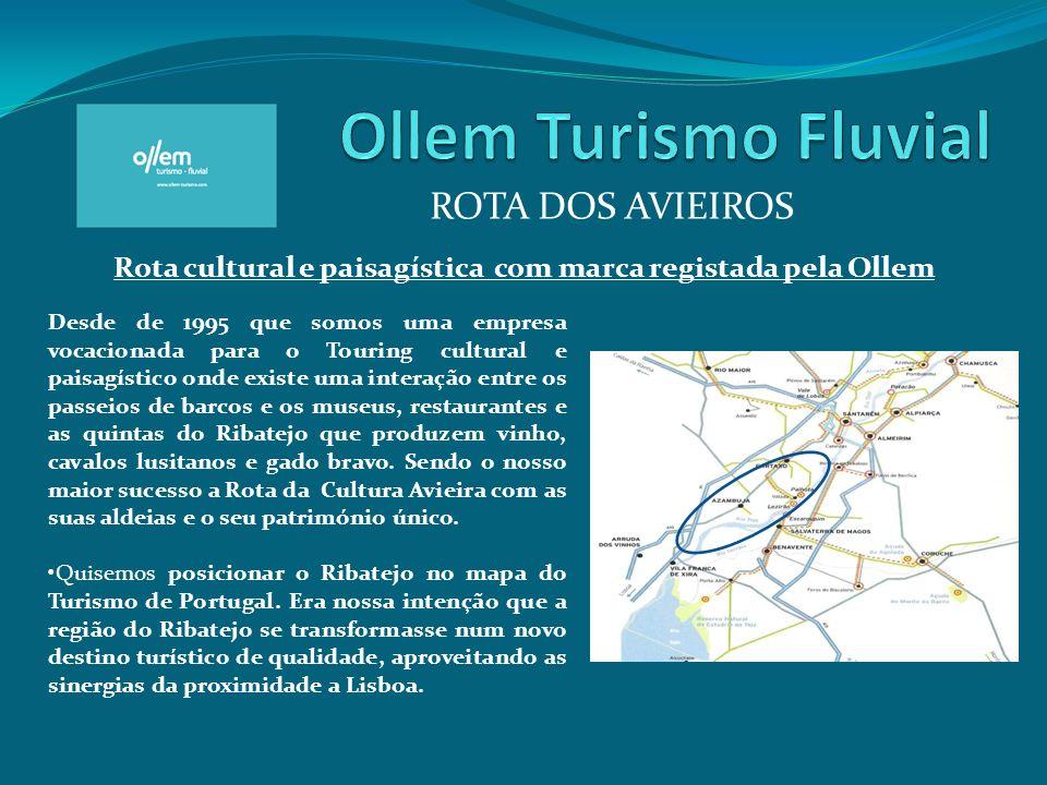 Ollem Turismo Fluvial ROTA DOS AVIEIROS