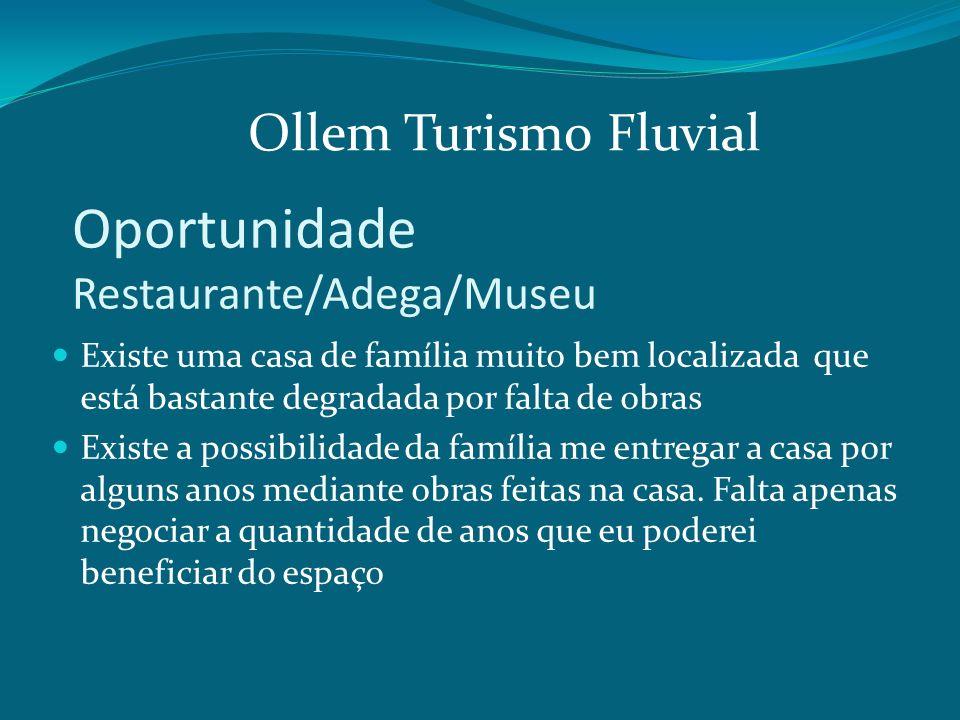 Oportunidade Restaurante/Adega/Museu