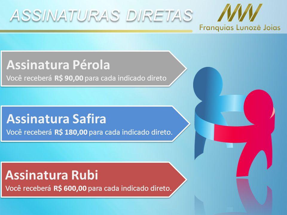 ASSINATURAS DIRETAS Assinatura Pérola Assinatura Safira