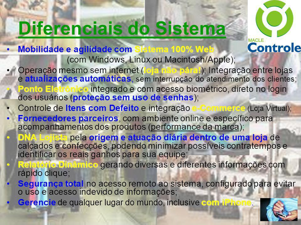 Diferenciais do Sistema