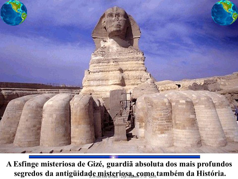 A Esfinge misteriosa de Gizé, guardiã absoluta dos mais profundos