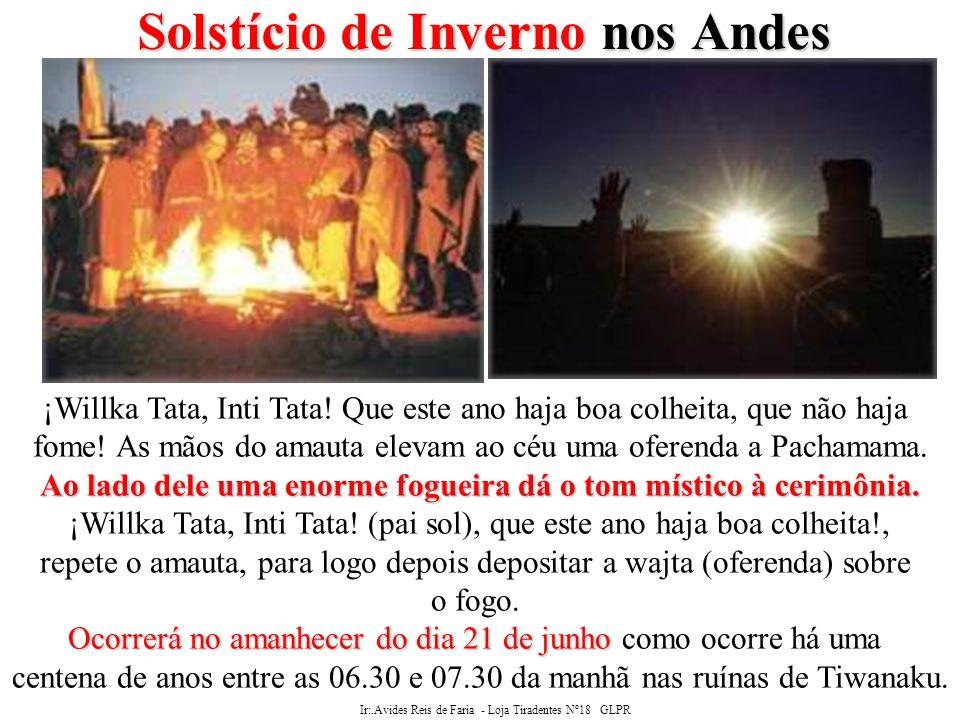 Solstício de Inverno nos Andes