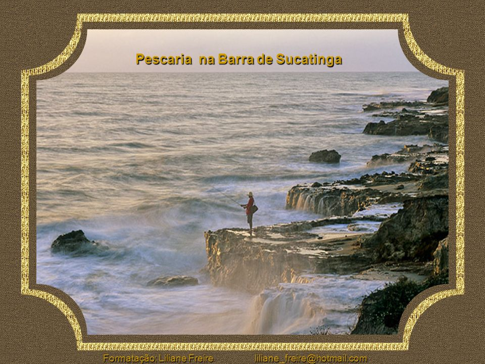 Pescaria na Barra de Sucatinga