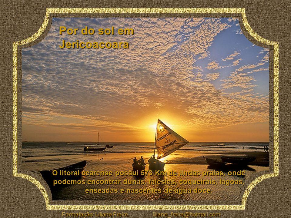 Por do sol em Jericoacoara