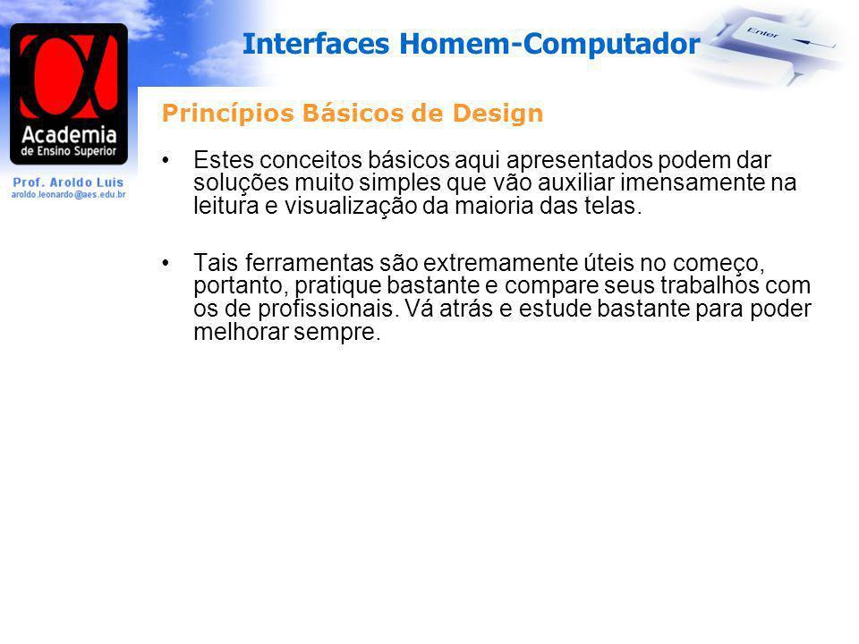 Princípios Básicos de Design
