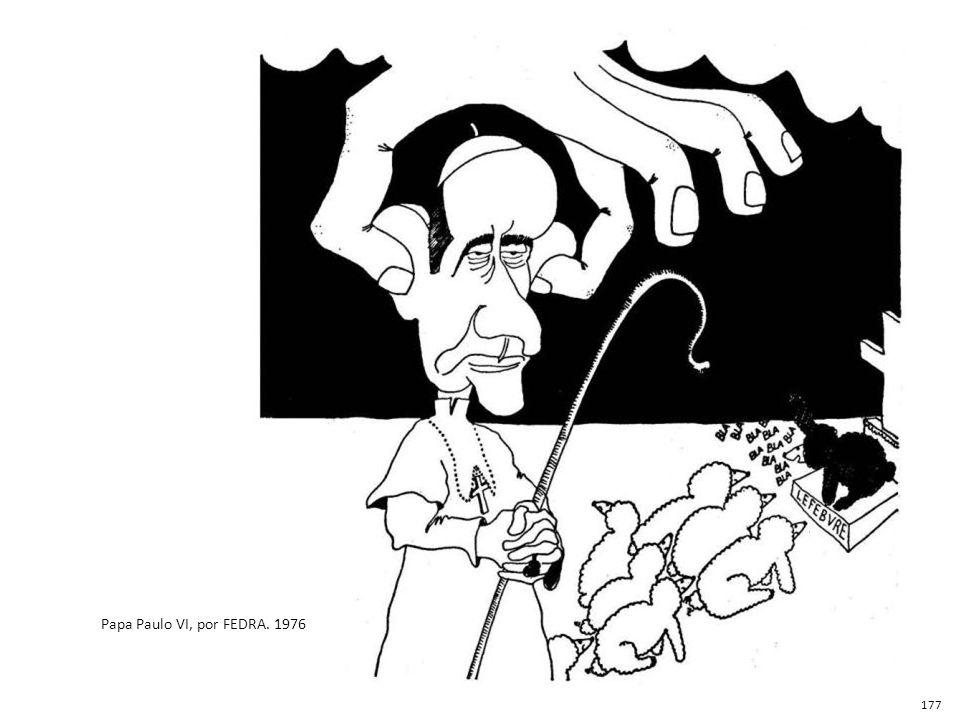 Papa Paulo VI, por FEDRA. 1976 177