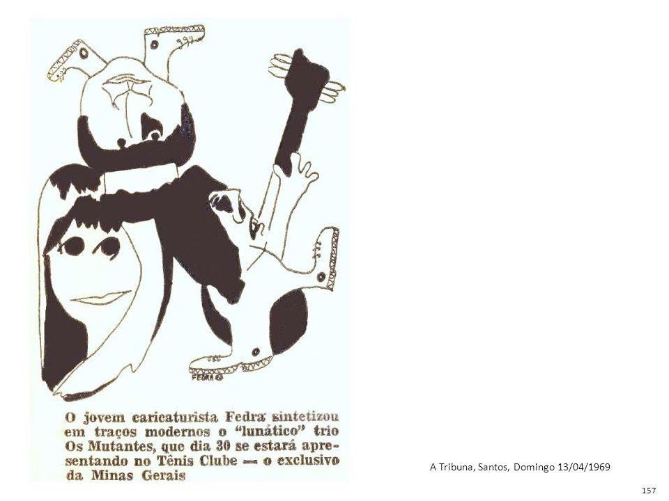 A Tribuna, Santos, Domingo 13/04/1969