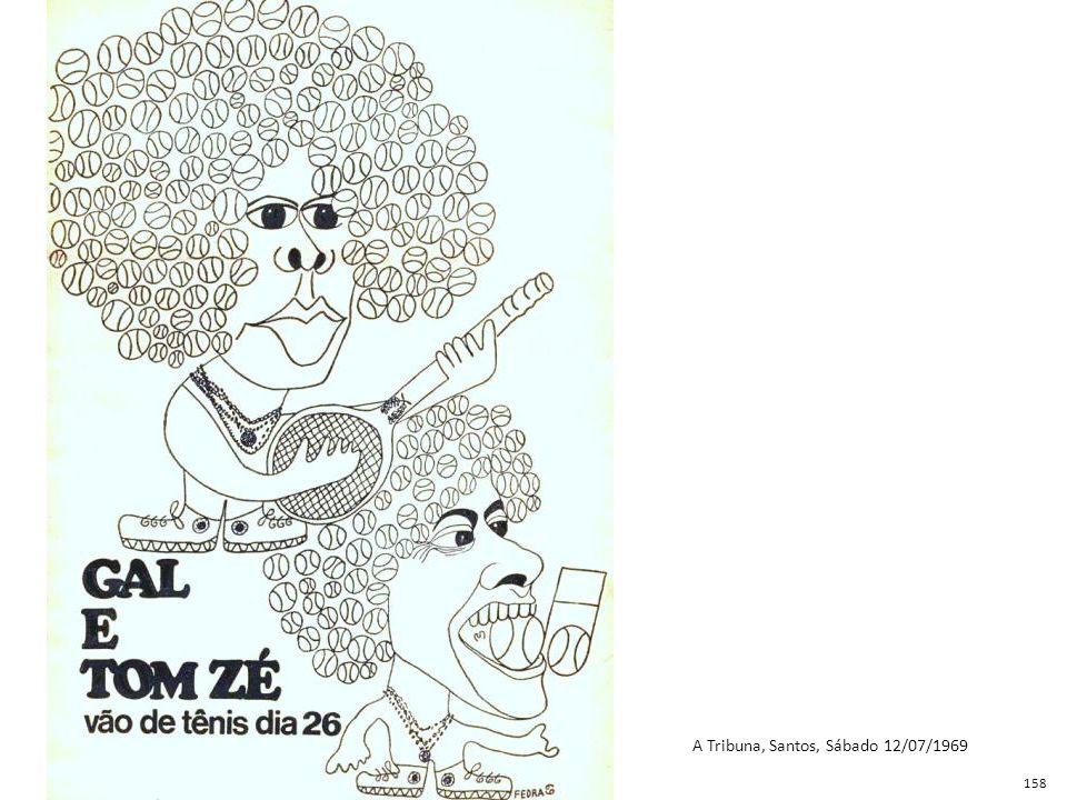 A Tribuna, Santos, Sábado 12/07/1969