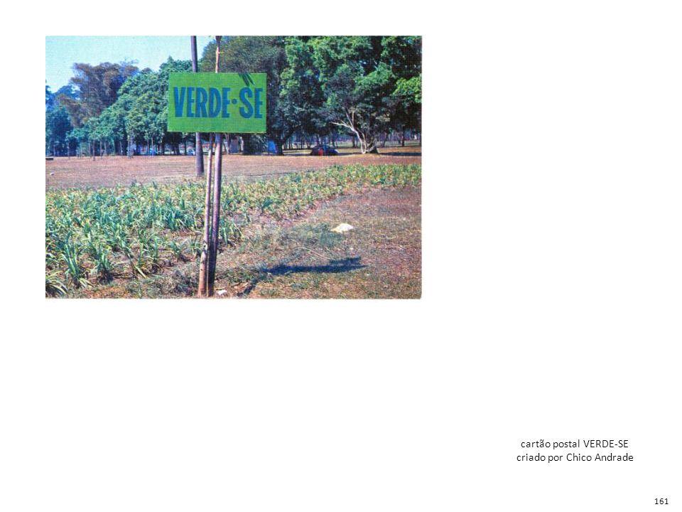 cartão postal VERDE-SE criado por Chico Andrade