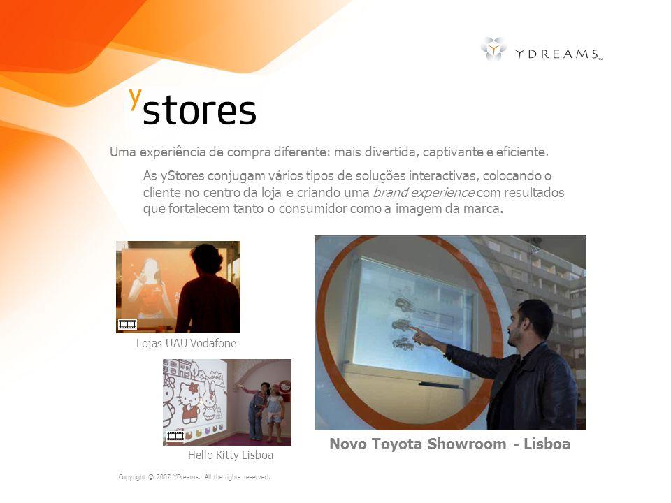 Novo Toyota Showroom - Lisboa