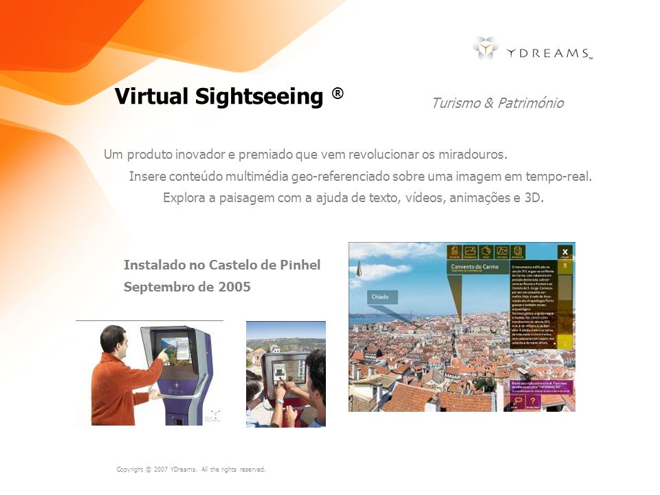 Virtual Sightseeing ® Turismo & Património