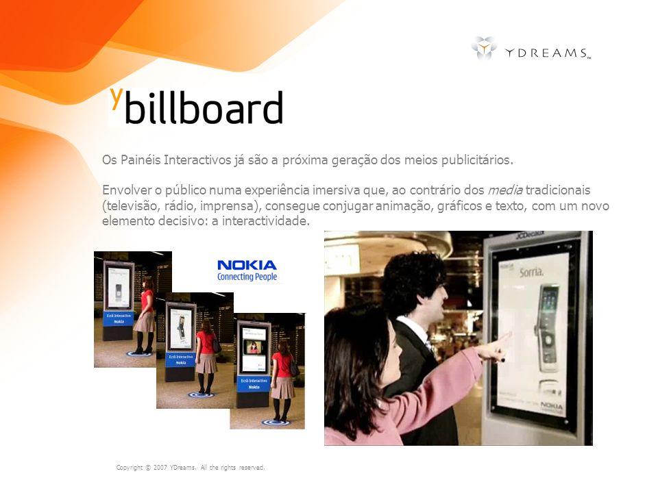 Os Painéis Interactivos já são a próxima geração dos meios publicitários.